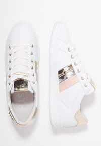 H.I.S - Sneakersy niskie - white/gold - 3