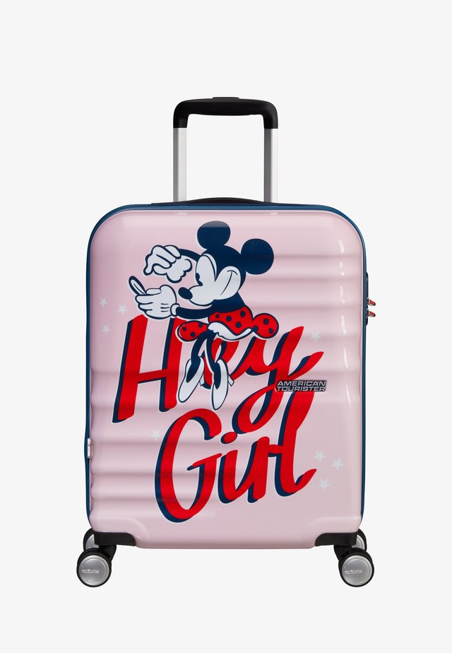 WAVEBREAKER DISNEY - Wheeled suitcase - pink
