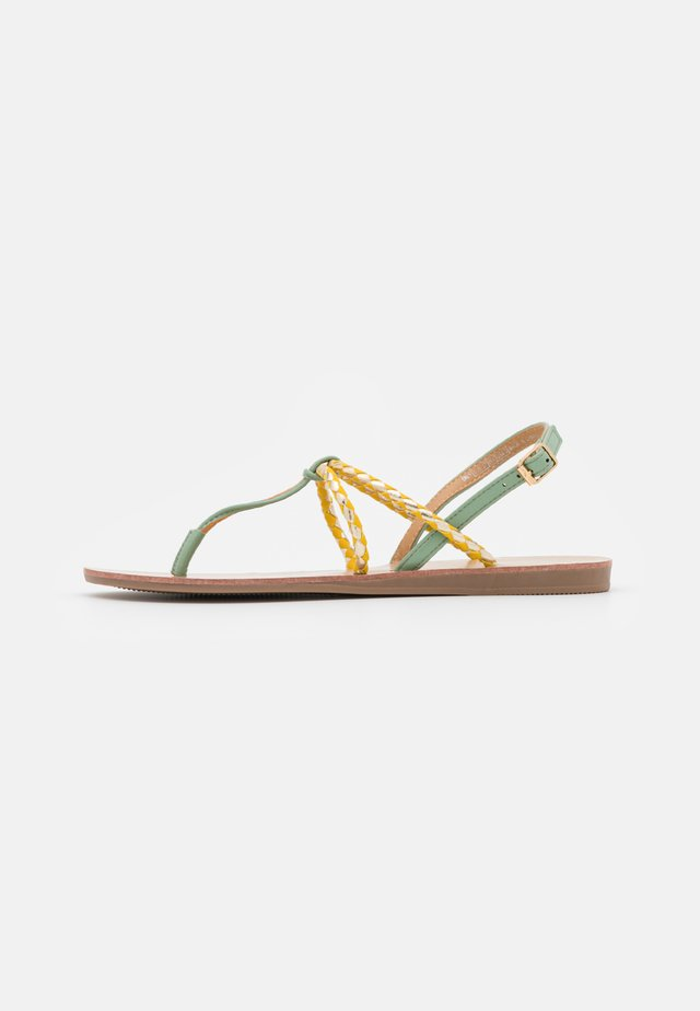 ONLMAYA BRAID  - Teensandalen - yellow