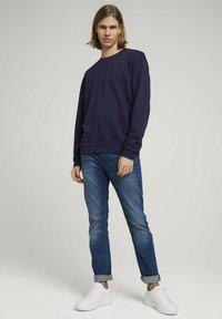 TOM TAILOR DENIM - Sweater - sky captain blue - 1