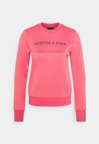 Scotch & Soda - CLUB NOMADE BASIC - Top sdlouhým rukávem - watermelon - 0