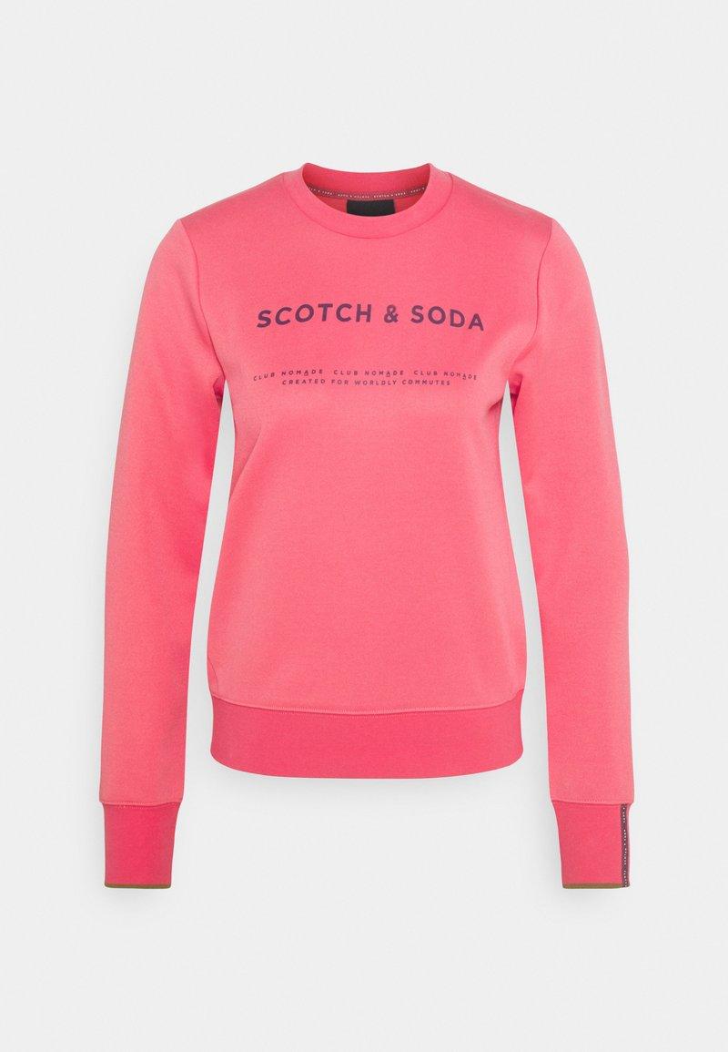Scotch & Soda - CLUB NOMADE BASIC - Top sdlouhým rukávem - watermelon