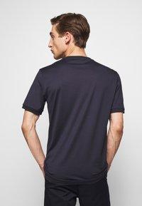 HUGO - DIRAGOLINO - T-shirts basic - dark blue - 2