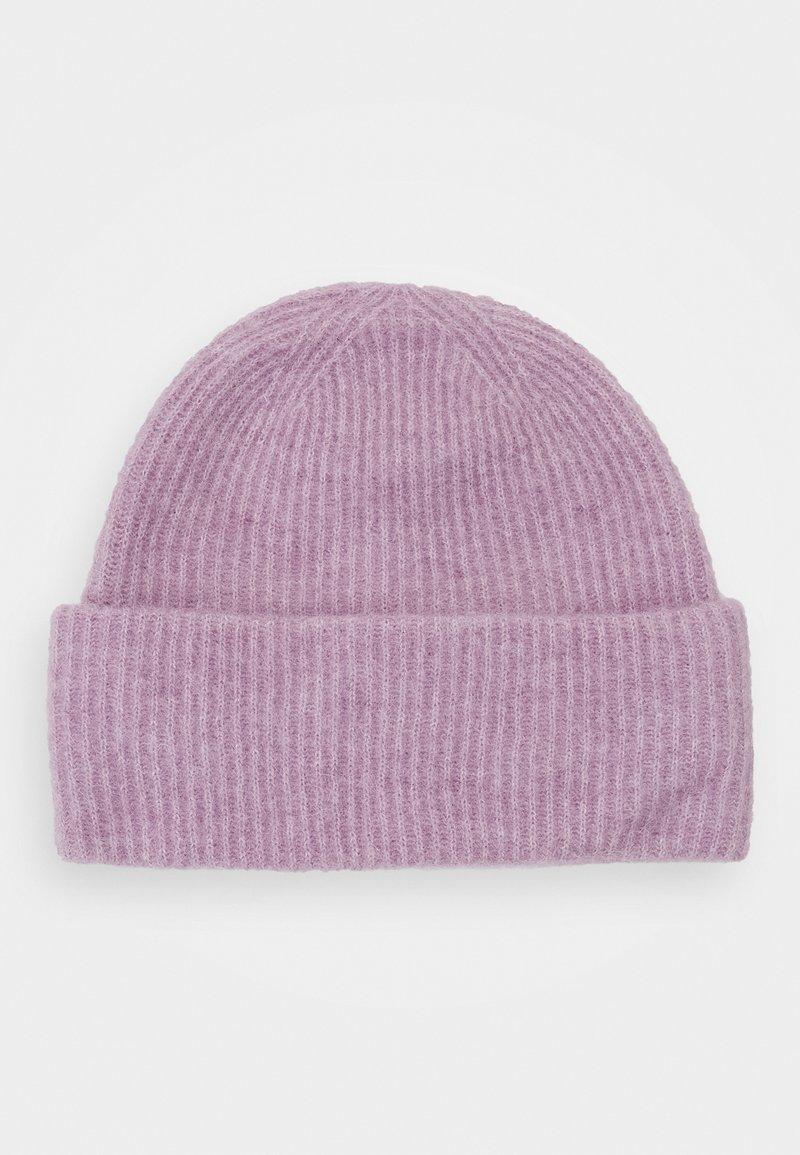 Samsøe Samsøe - NOR HAT - Lue - purple jasper melange
