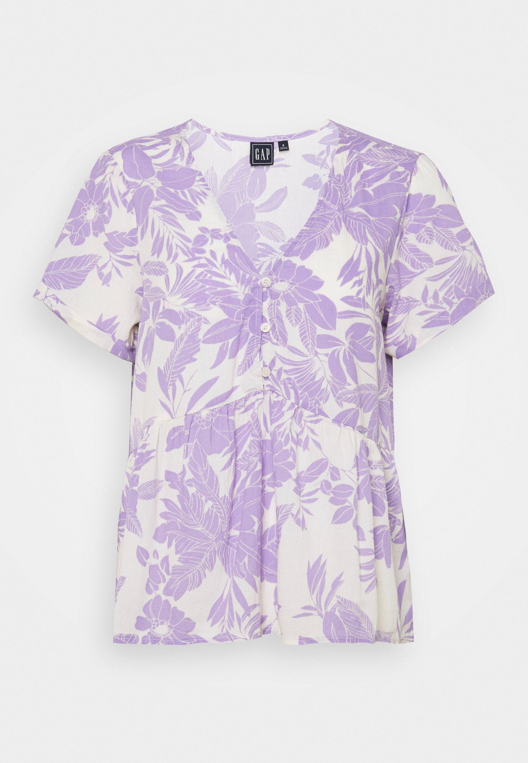 Women PEPLUM TOP - Print T-shirt