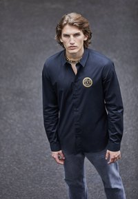 Versace Jeans Couture - POPELINE STRETCH - Shirt - nero - 3