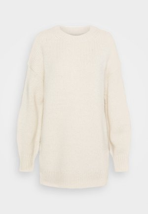 LONGSLEEVE ROUND NECK - Jumper - off white