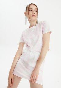 Trendyol - SET - A-line skirt - pink - 0