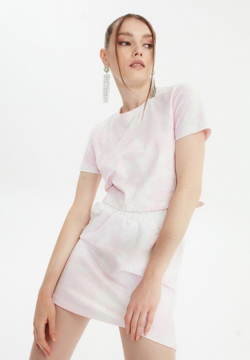 Trendyol - SET - A-line skirt - pink