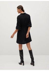 Mango - LEANDRA - Shirt dress - černá - 2