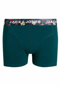 Jack & Jones Junior - 3 PACK - Pants - purple, black, grey - 4