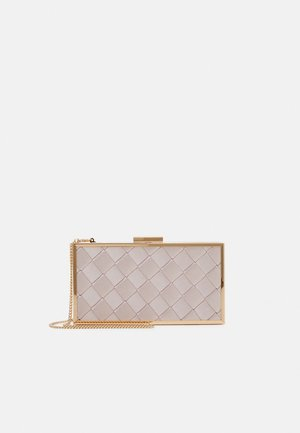 SONIA WEAVE HARDCASE  - Clutches - dust pink