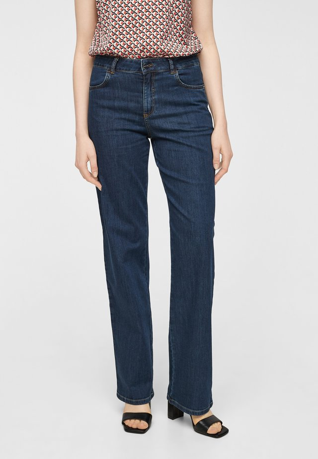 DUNKLE - Straight leg jeans - dark blue