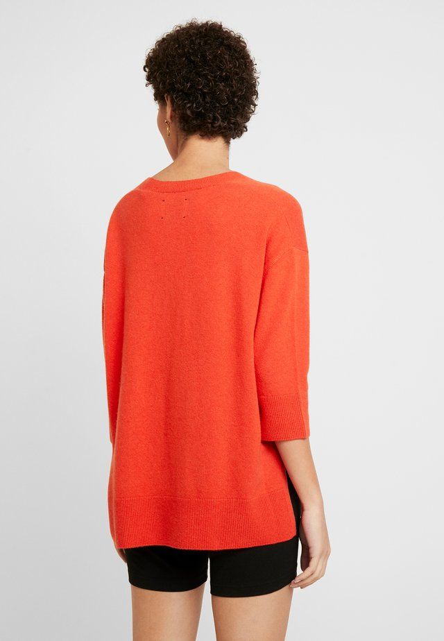 Pullover - flash orange