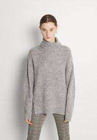 Even&Odd - Jumper - mottled grey - 0