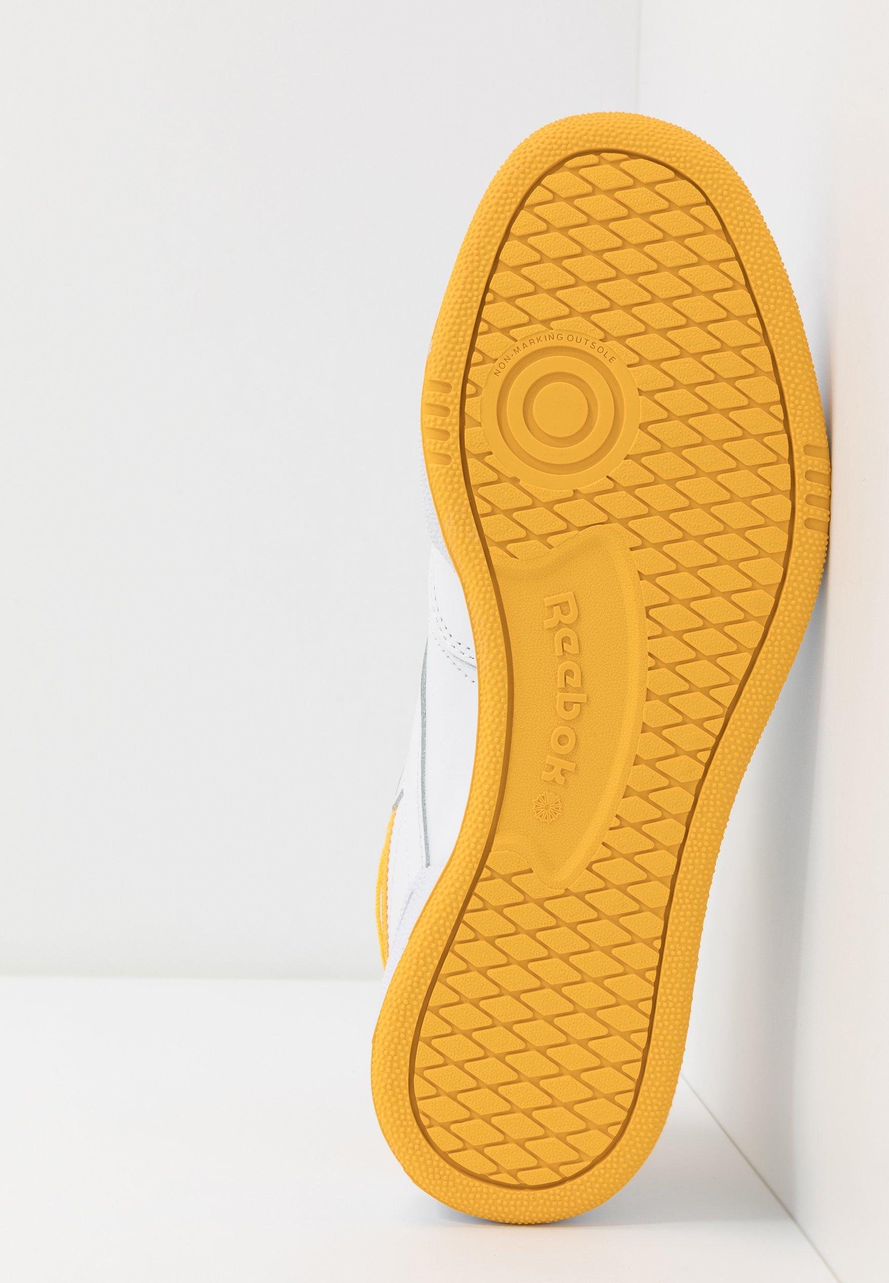 Recomendar barato Reebok Classic CLUB C 85 - Zapatillas - white/fierce gold/black | Calzado de mujer2020 1EmdP