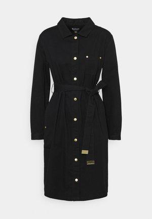MINATO DRESS - Denimové šaty - black