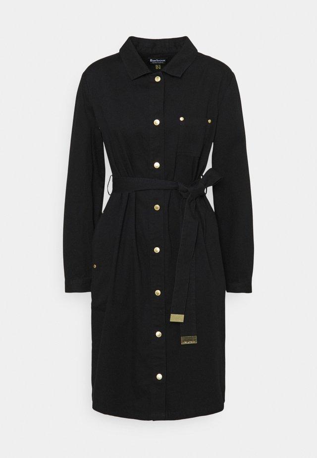 MINATO DRESS - Spijkerjurk - black