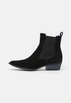 PALOMA - Cowboy/biker ankle boot - nero