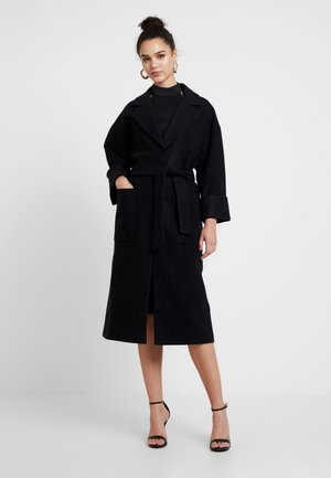 SANTO COAT - Mantel - black