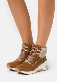 TOM TAILOR - Ankle boots - brown - 0
