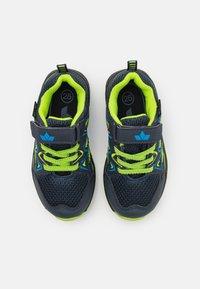 LICO - POSADAS - Touch-strap shoes - marine/blau/lemon - 3