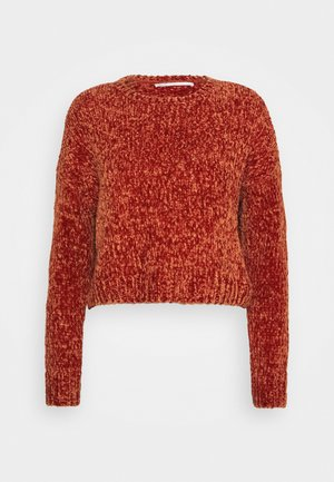 ONLSHILLA  - Jumper - red ochre