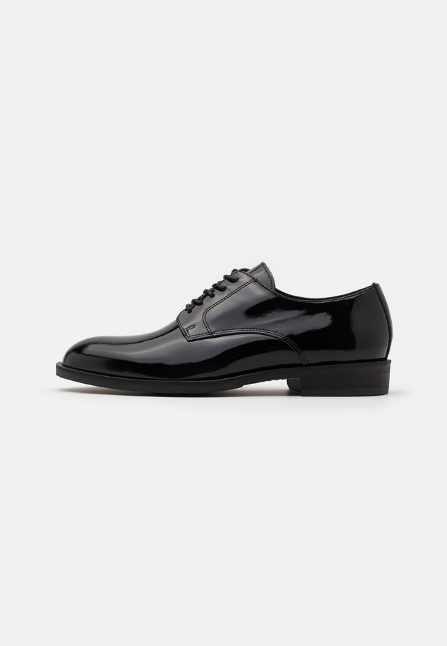 SLHLOUIS DERBY SHOE - Stringate eleganti - black