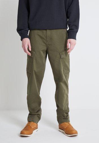 XX TAPER CARGO II - Cargo trousers - olive