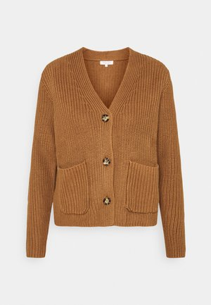 TONIAPW - Cardigan - light brown