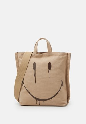 SMUDGE SHOPPER - Tote bag - beige