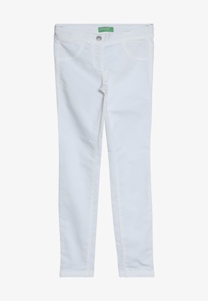 TROUSERS - Skinny džíny - white