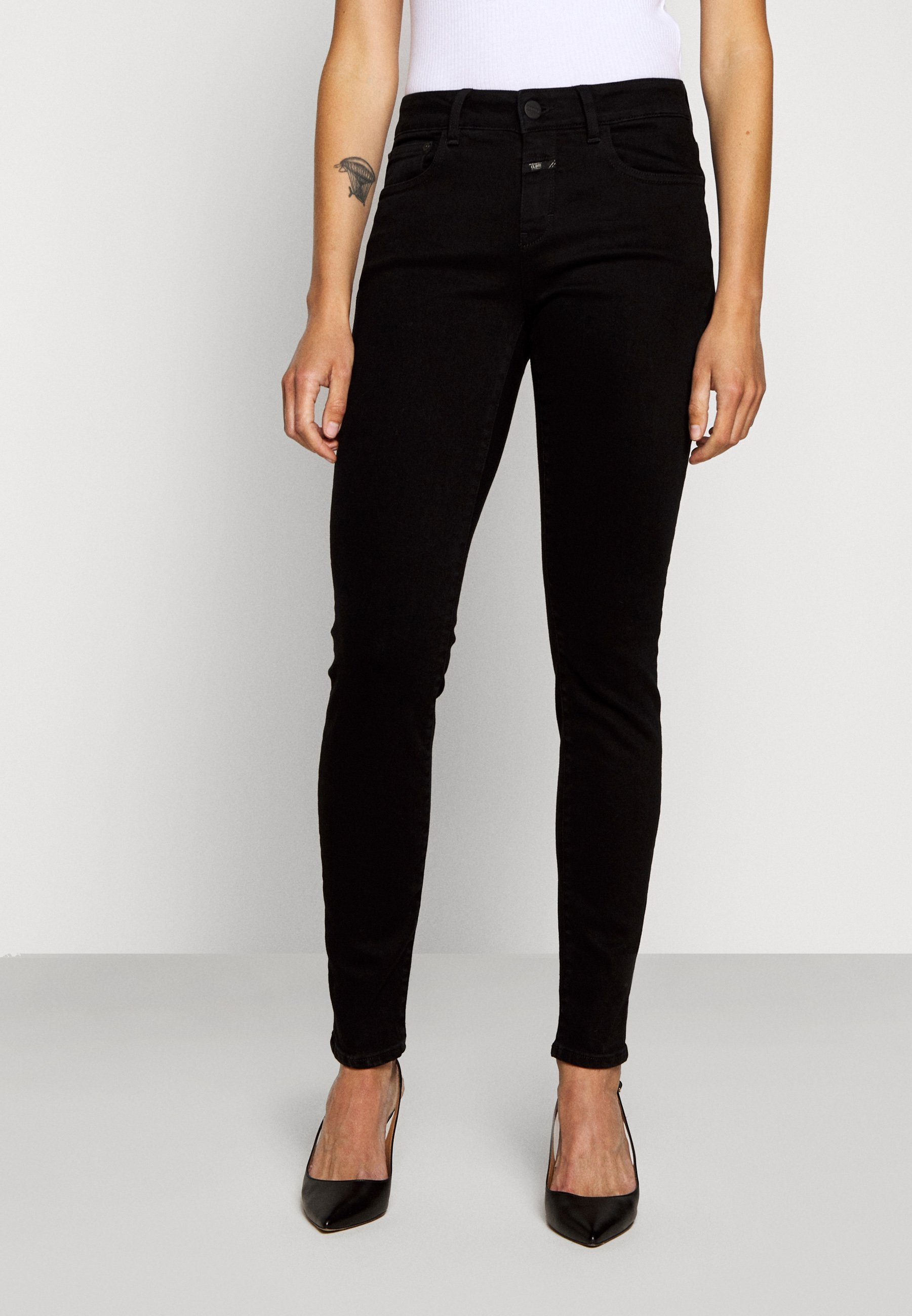 CLOSED BAKER  - Jean slim - black - Jeans Femme icuHo