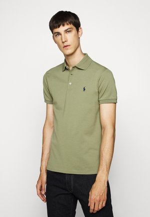 SLIM FIT MODEL - Polo - sage green