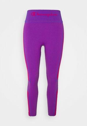 SEAMLESS LEGGINGS - Leggings - purple