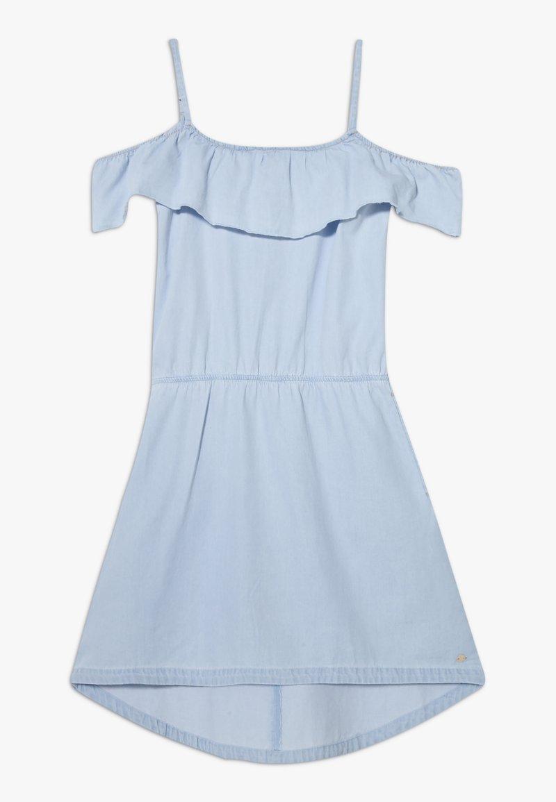 Esprit - DRESS - Korte jurk - light indigo denim