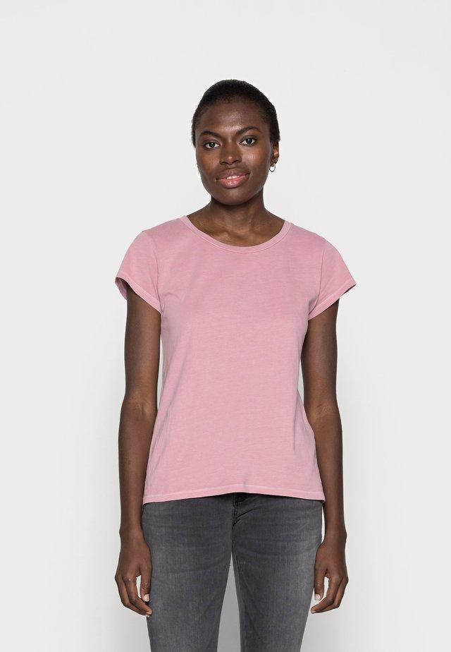 LISS - Basic T-shirt - dusty rose