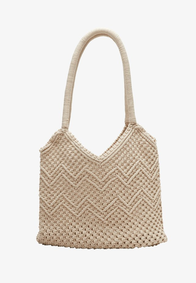 Shopping Bag - beige