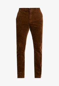 Pier One - Trousers - cognac - 4
