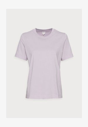 Basic T-shirt - ltpurple