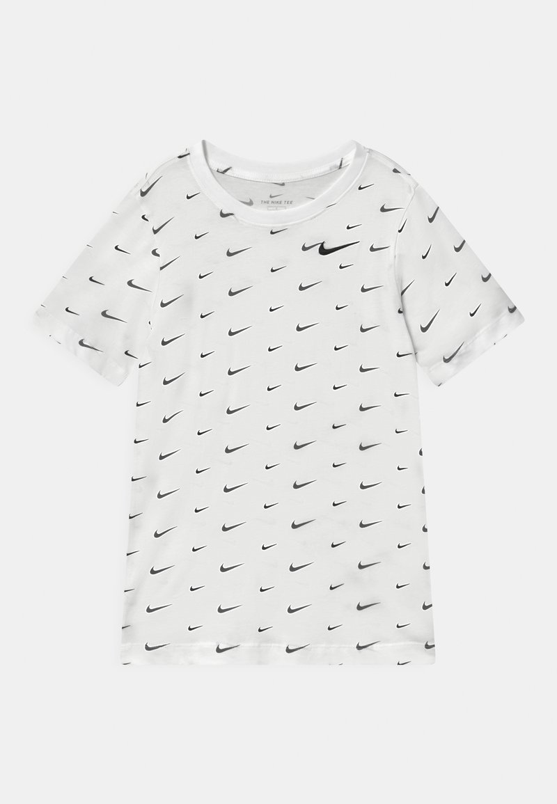 Nike Sportswear - T-shirt med print - white/black