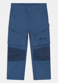 TrollKids - NORDFJORD ZIP-OFF 2-IN-1 UNISEX - Outdoorové kalhoty - midnight blue - 0