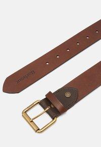 Barbour - CONTRAST BELT - Belt - olive/brown - 2