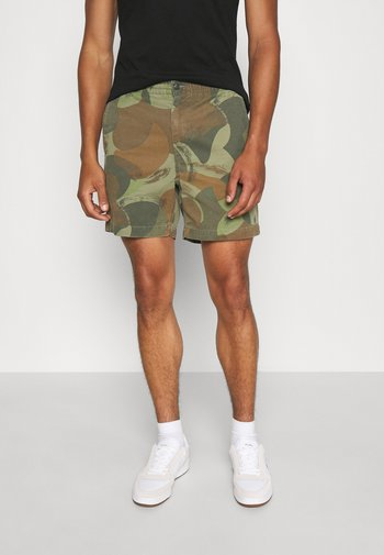 6-INCH POLO PREPSTER CAMO TWILL SHORT - Shorts - jungle