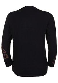seeyou - LEOPARD - Print T-shirt - schwarz - 1