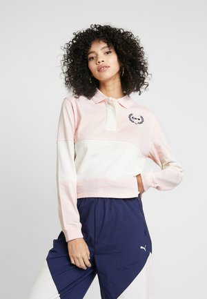 SELENA GOMEZ RUGBY - Polo shirt - pink dogwood