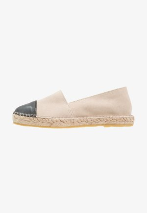 NANNA - Loafers - beige/black