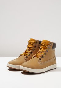 Timberland - DAVIS SQUARE 6 INCH - High-top trainers - wheat - 3