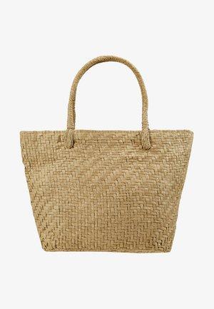 MINI BAG - Handbag - beige