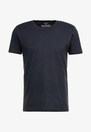 BARTON - T-shirt - bas - black